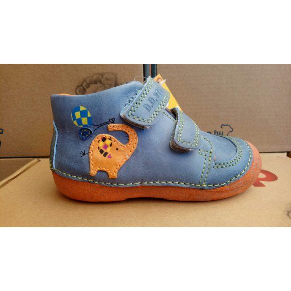 D.D. Step fiú bőr cipő 19,20-s méretben