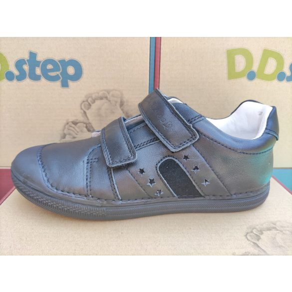 D.D. Step bőr cipő 31,32,33,34,35-s méretben
