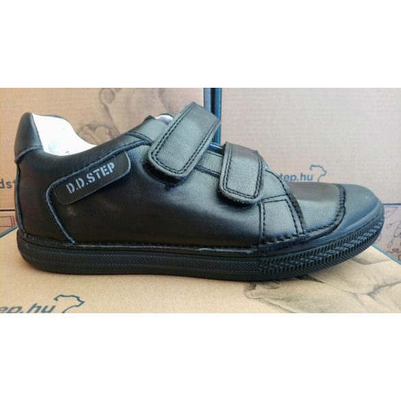 D.D. Step fiú bőr cipő 31,32,33,35,36-s méretben