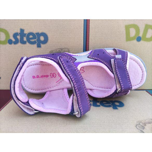 D.D. Step lány bőr szandál 31,33,36-s méretben