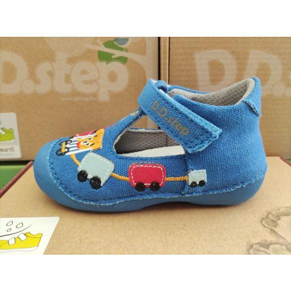 D.D. Step fiú vászon cipő 19,20,21,23,24-s méretben