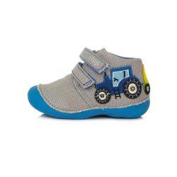 D.D. Step fiú vászon cipő 19,20,21,22,23,24-s méretben