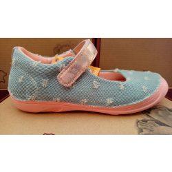 D.D. Step lány vászon cipő 31,33-s méretben