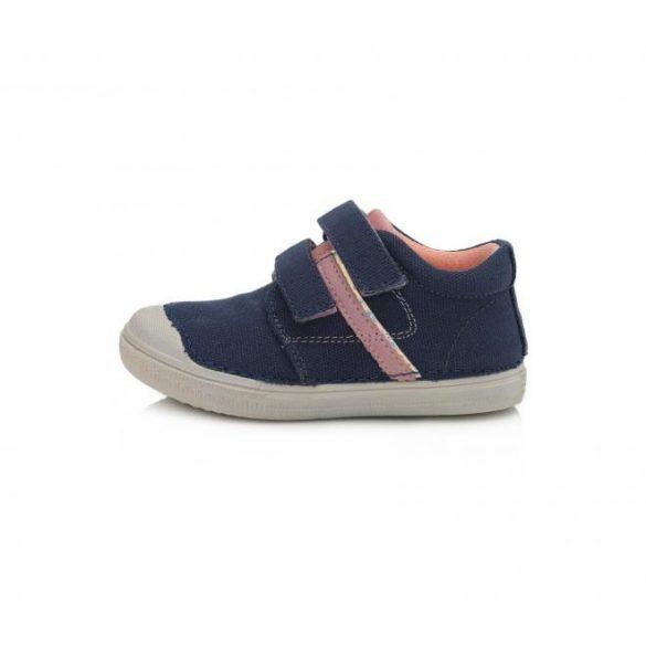 D.D. Step lány vászon cipő 25,26,27,28,29,30-s méretben
