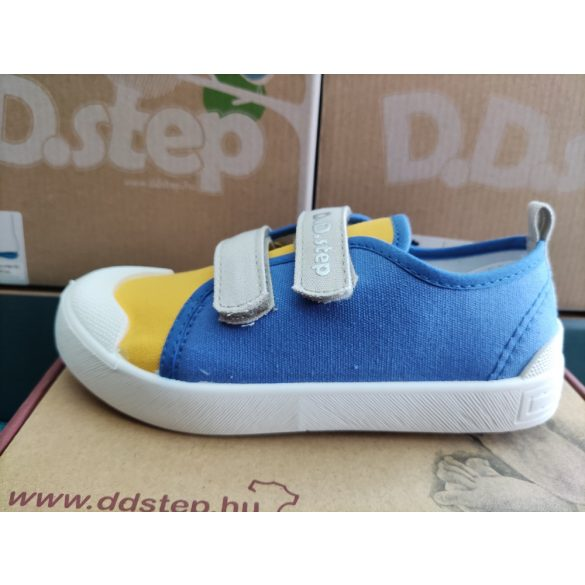 D.D. Step fiú vászon cipő 26,27,28,29,30,31-s méretben