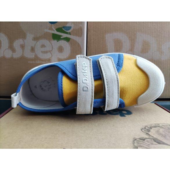 D.D. Step fiú vászon cipő 27,28,29,30,31-s méretben