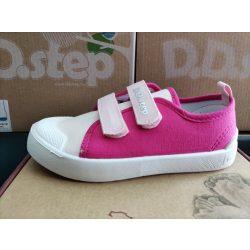 D.D. Step lány vászon cipő 27,29,30,31-s méretben