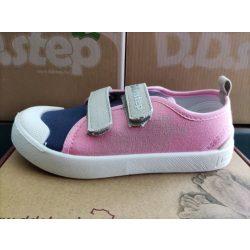 D.D. Step lány vászon cipő 26,27,29,30,31-s méretben