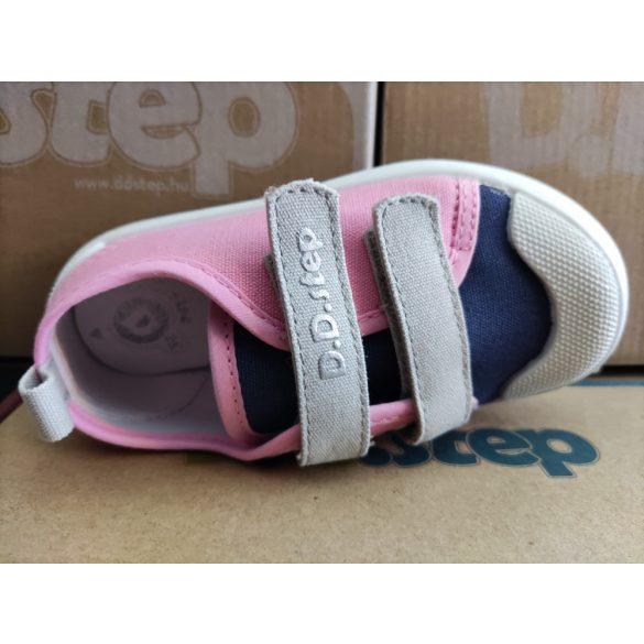 D.D. Step lány vászon cipő 20,21-s méretben