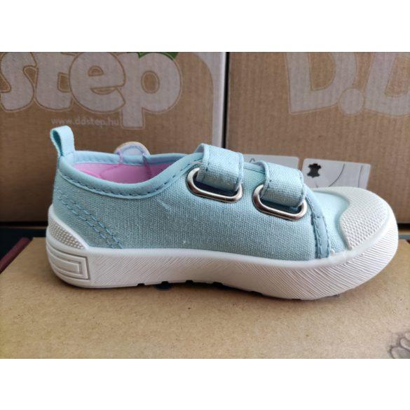 D.D. Step lány vászon cipő 20,21,22,23,24,25-s méretben