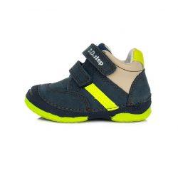 D.D. Step fiú bőr cipő 19,20,21,22,23,24-s méretben