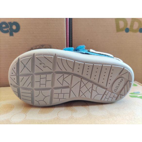D.D. Step fiú bőr cipő 21,22-s méretben